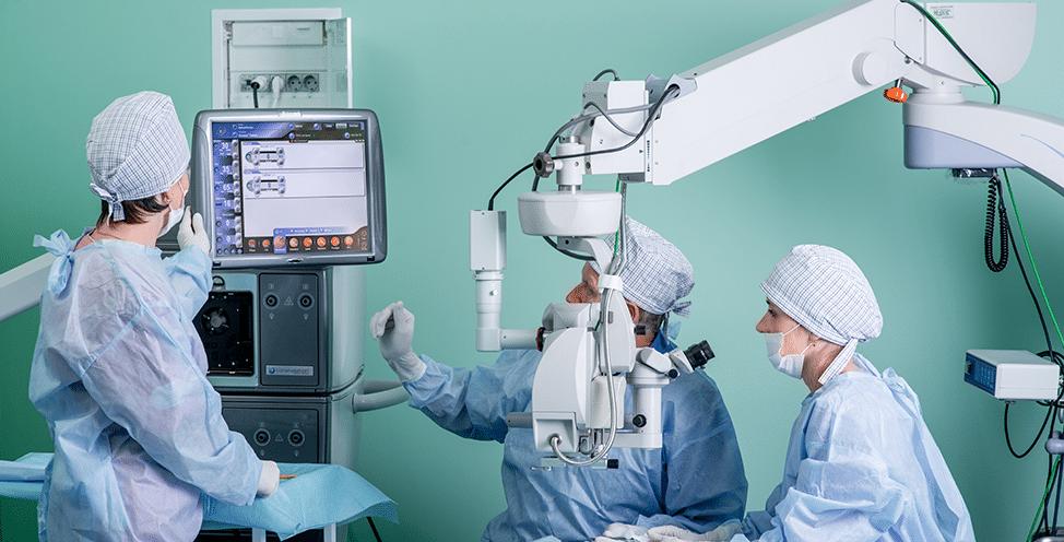 мікрохірургія ока